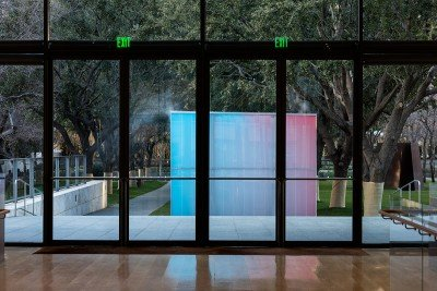 """Ann Veronica Janssens """"Blue, Red and Yellow"""" 2001_ Courtesy of the artist and 1301PE, Los Angeles, Photo by Kevin Todora"""