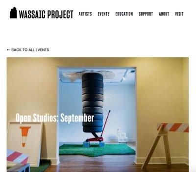 wassaic, open studios, september 2018